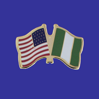 USA+Nigeria Friendship Pin-0