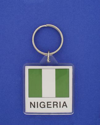 Nigeria Keychain-0
