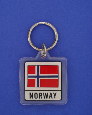 Norway Keychain-0