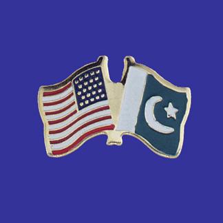 USA+Pakistan Friendship Pin-0