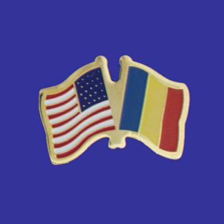 USA+Romania Friendship Pin-0