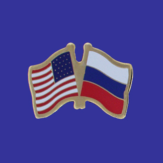 USA+Russia Friendship Pin-0