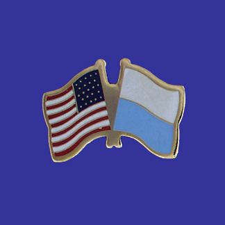 USA+San Marino Friendship Pin-0