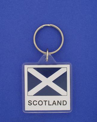 Scotland (cross) Keychain-0