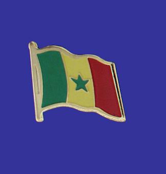 Senegal Lapel Pin-0