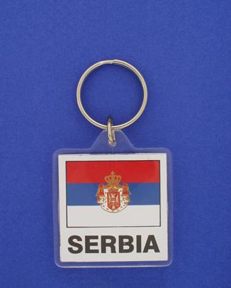 Serbia Keychain-0