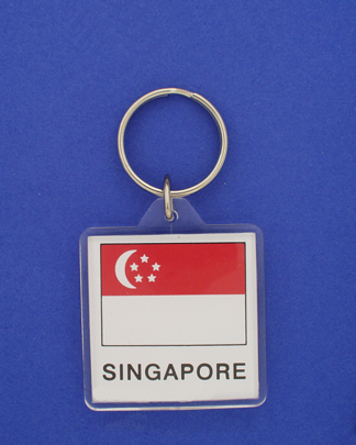 Singapore Keychain-0