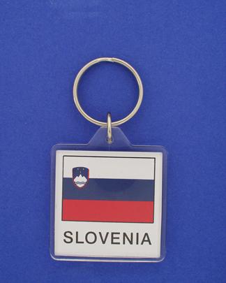 Slovenia Keychain-0