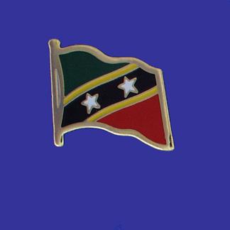 St. Christopher-Nevis Lapel Pin-0