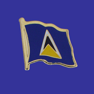 St. Lucia Lapel Pin-0