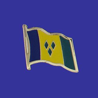 St. Vincent & Grenada Lapel Pin-0