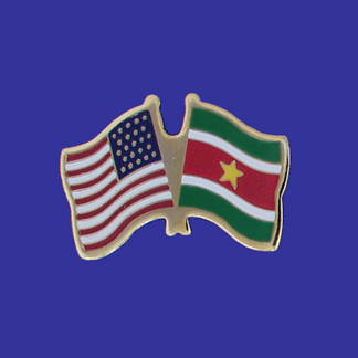 USA+Suriname Friendship Pin-0