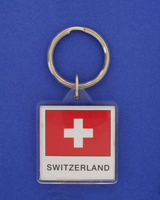 Switzerland Keychain-0