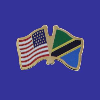 USA+Tanzania Friendship Pin-0