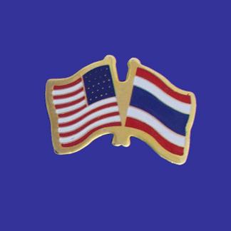 USA+Thailand Friendship Pin-0