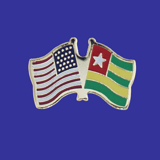 USA+Togo Friendship Pin-0