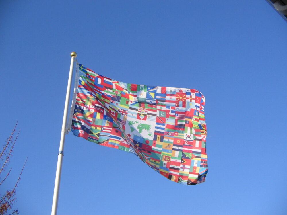 World Flag-5' x 8'-0