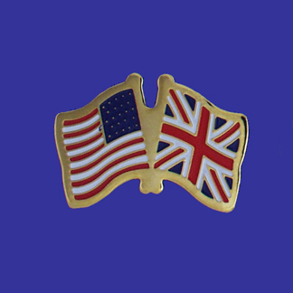USA+United Kingdom Friendship Pin-0