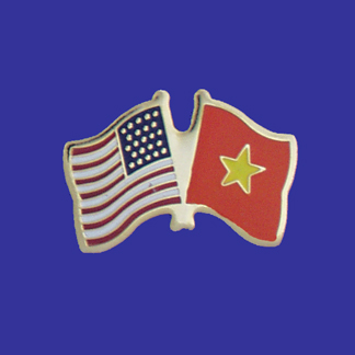 USA+Vietnam Friendship Pin-0
