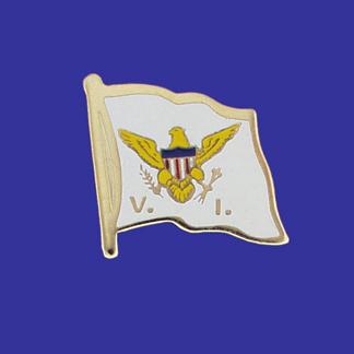 US Virgin Islands Lapel Pin-0