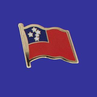 Western Samoa Lapel Pin-0