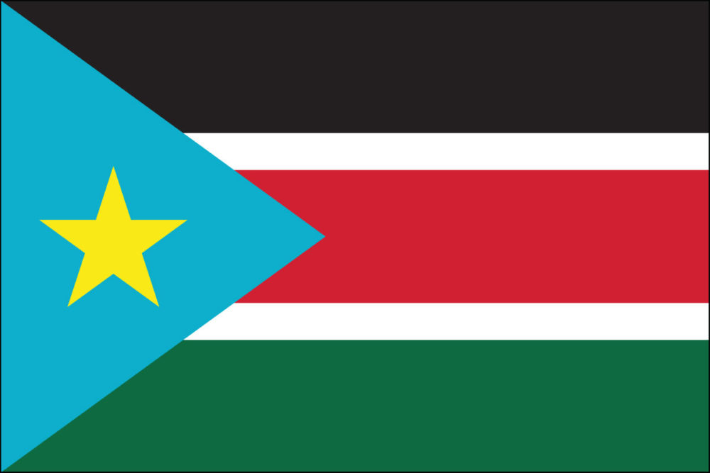 South Sudan Flag-3' x 5' Outdoor Nylon-0