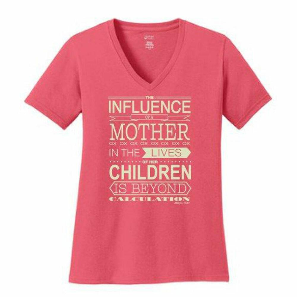Mother's Influence V-NECK-0